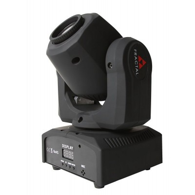 FRACTAL MINI LED GOBO SPOT 10 W głowica LED