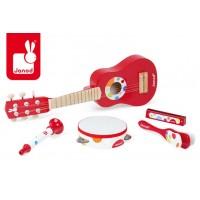 Zestaw instrumentów muzycznych Janod Confetti, duży