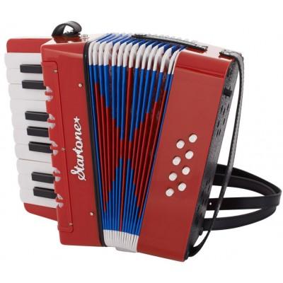 Startone Helene akordeon dla dzieci czerwony