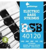 Galli RSB40120 - struny do gitary basowej