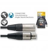 Stagg NMC 1XX - kabel mikrofonowy 1m