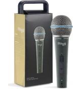 Stagg SDM 60 - mikrofon dynamiczny z wyłącznikiem
