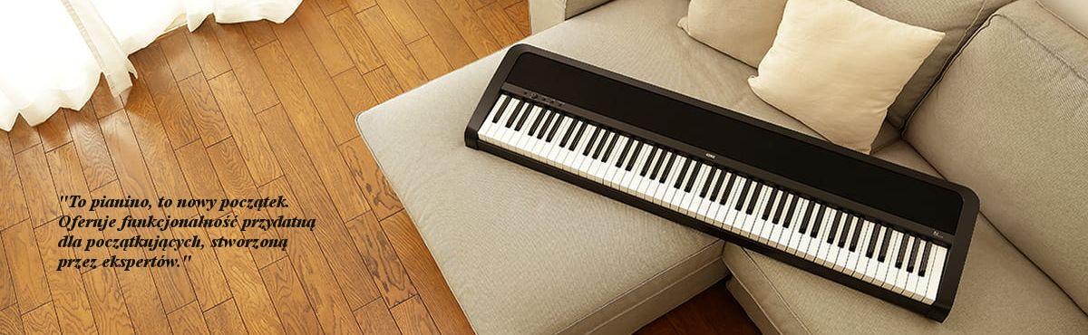 KORG B2 BK Pianino cyfrowe Nowy początek